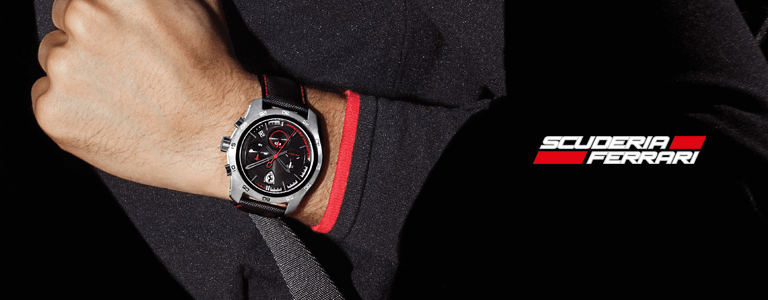 watch watches india speciale scuderia buy mini men ferrari in analogue black online