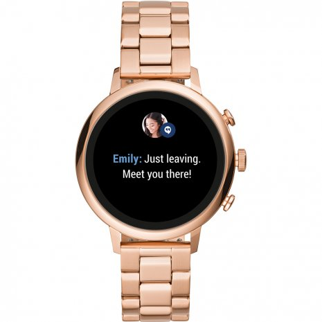 Touchscreen Smartwatch with Stainless Steel Bracelet - Gen4 Fall Winter Collection Fossil