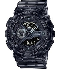 GA-110SKE-8AER Skeleton Series - Black 51.2mm