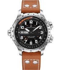 H77755533 Khaki X-Wind 45mm