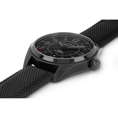 Hamilton watch black