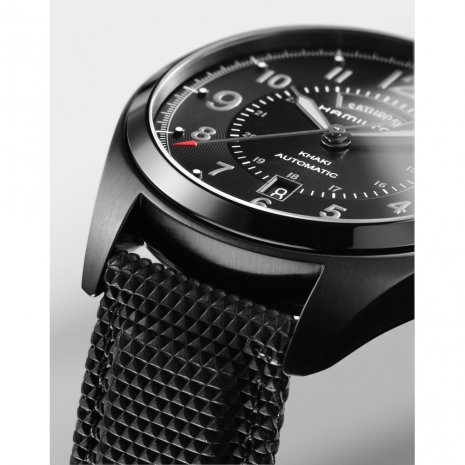 Full Black Swiss Automatic Watch with DayDate Spring Summer Collection Hamilton